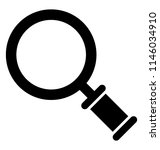 magnifier or magnifying glass ... | Shutterstock .eps vector #1146034910