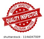 quality inspector seal print... | Shutterstock .eps vector #1146047009