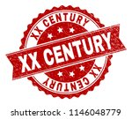 xx century seal print with... | Shutterstock .eps vector #1146048779