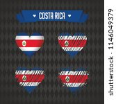 costa rica with love. design... | Shutterstock .eps vector #1146049379