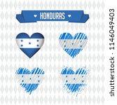 honduras with love. design... | Shutterstock .eps vector #1146049403