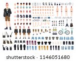 punk diy or constructor kit.... | Shutterstock .eps vector #1146051680