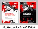 vector layout design template... | Shutterstock .eps vector #1146058466