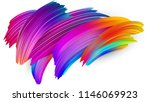 spectrum watercolor  acrylic or ... | Shutterstock .eps vector #1146069923