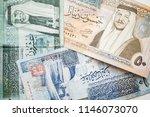 jordanian dinars  banknotes... | Shutterstock . vector #1146073070
