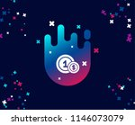 coins simple icon. money sign.... | Shutterstock .eps vector #1146073079