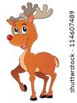 Reindeer Theme Image 1   Vector ...