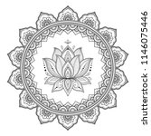 circular pattern in form of...   Shutterstock .eps vector #1146075446