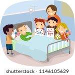 illustration of kids and... | Shutterstock .eps vector #1146105629
