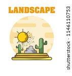 landscape environment scenery | Shutterstock .eps vector #1146110753