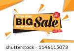 sale banner design template....   Shutterstock .eps vector #1146115073