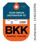 bangkok realistically looking...   Shutterstock . vector #1146126596