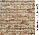 background of brick wall texture | Shutterstock . vector #114614038