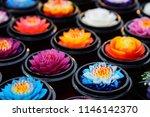aroma flower soaps handmade... | Shutterstock . vector #1146142370