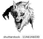 Evil Werewolf Illustration