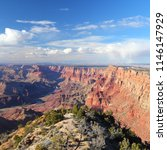 grand canyon national park in... | Shutterstock . vector #1146147929