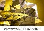 polygonal gold mosaic... | Shutterstock . vector #1146148820