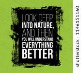 look deep into nature...   Shutterstock .eps vector #1146151160