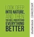 look deep into nature...   Shutterstock .eps vector #1146151169