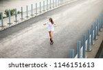 young beautiful blonde girl... | Shutterstock . vector #1146151613