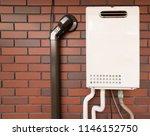 gas water heater | Shutterstock . vector #1146152750