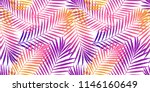 summer tropical palm tree... | Shutterstock .eps vector #1146160649