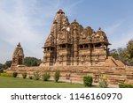 vishvanatha temple    khajuraho ...   Shutterstock . vector #1146160970