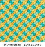 3d illustration of a geometric...   Shutterstock . vector #1146161459