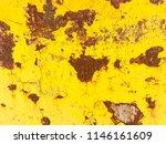 rust on metal  painted in...   Shutterstock . vector #1146161609