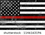 A Firefighter Support Flag...