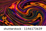 neon maelstrom of time. 3d... | Shutterstock . vector #1146173639