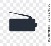 radio antenna vector icon... | Shutterstock .eps vector #1146175730