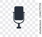 voice recorder vector icon... | Shutterstock .eps vector #1146175733
