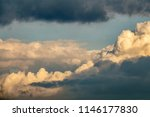 dark clouds starting to block... | Shutterstock . vector #1146177830