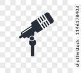microphone voice vector icon... | Shutterstock .eps vector #1146178403