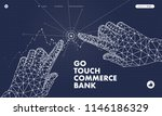 touch the future analytics.... | Shutterstock .eps vector #1146186329