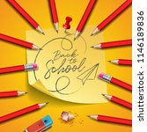 back to school design with... | Shutterstock .eps vector #1146189836