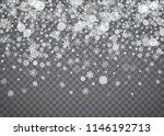 snowflake border for christmas... | Shutterstock .eps vector #1146192713