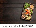 keto diet food ingredients | Shutterstock . vector #1146199403