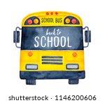 Cute Colorful School Bus...