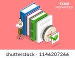 flat isometric vector concept... | Shutterstock .eps vector #1146207266