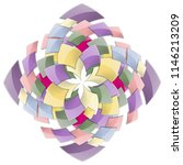 decorative backdrop with... | Shutterstock .eps vector #1146213209