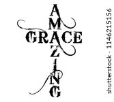 Amazing Grace Cross   Text In...