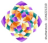 decorative backdrop with... | Shutterstock .eps vector #1146221210