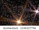 stars in outer space. abstract... | Shutterstock . vector #1146227756