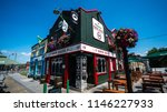 a heritage pub in limerick... | Shutterstock . vector #1146227933