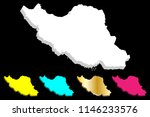 3d map of iran  islamic...   Shutterstock .eps vector #1146233576