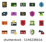 colored vector icon set  ... | Shutterstock .eps vector #1146238616