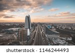 aerial view of sofia | Shutterstock . vector #1146244493