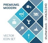 modern  simple vector icon set... | Shutterstock .eps vector #1146262340